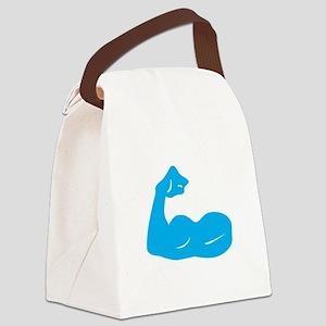 Bicep Flex Canvas Lunch Bag