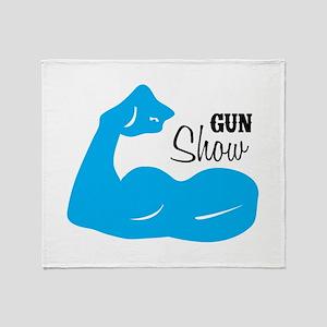 Gun Show Throw Blanket
