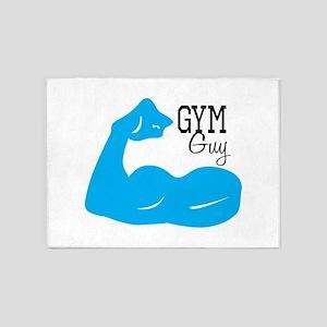Gym Guy 5'x7'Area Rug