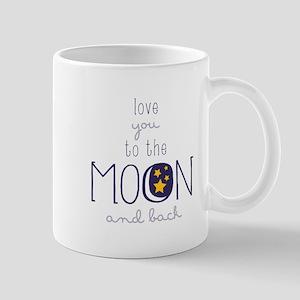 To The Moon Mugs