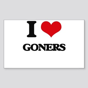 I Love Goners Sticker