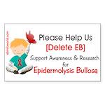 Delete Eb Epidermolysis Bullosa Sticker