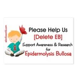 Delete Eb Epidermolysis Postcards (package Of 8)