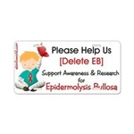 Delete Eb Epidermolysis Aluminum License Plate