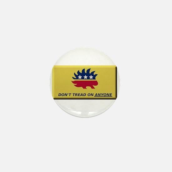 Don't Tread On Anyone Mini Button