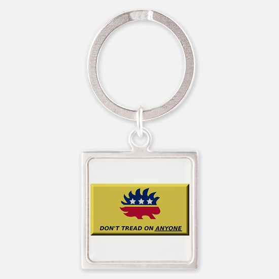 Don't Tread On Anyone Keychains