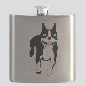 Those Crazy Bostons Flask