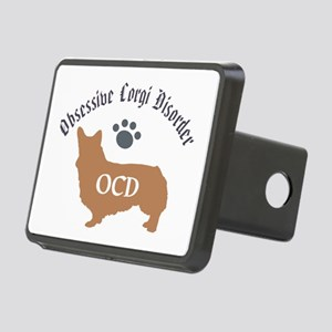 Obsessive Corgi Disorder Rectangular Hitch Cover