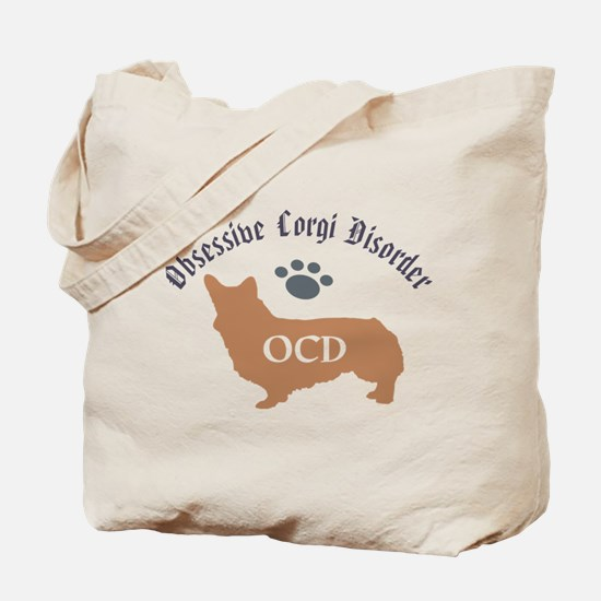 Obsessive Corgi Disorder Tote Bag