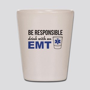 Drink with an EMT Shot Glass