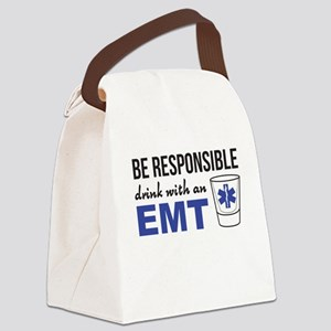 Drink with an EMT Canvas Lunch Bag