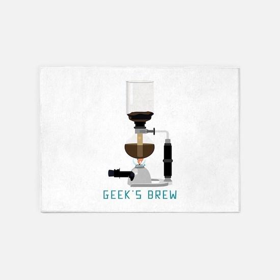 Geeks Brew 5'x7'Area Rug