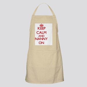 Keep Calm and Nanny ON Apron