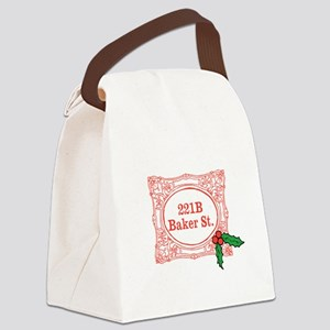 Holmes for Christmas Canvas Lunch Bag