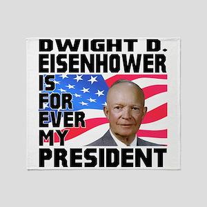 Eisenhower 4ever Throw Blanket