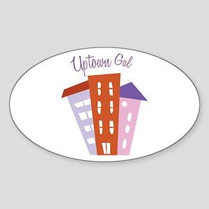 Uptown Girl Sticker