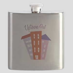 Uptown Girl Flask