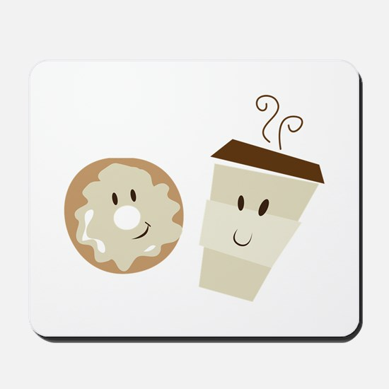 Coffee and Donut Mousepad