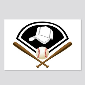 Baseball Gear Postcards (Package of 8)