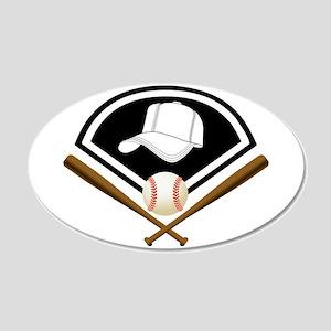 Baseball Gear Wall Decal