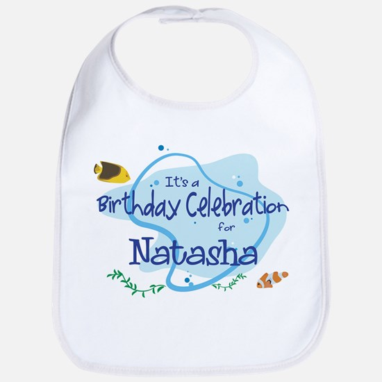 Celebration for Natasha (fish Bib