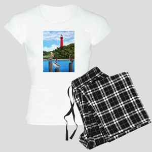 Jupiter Inlet Pelicans Women's Light Pajamas