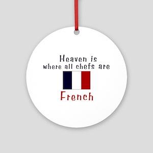 French Chefs Keepsake Ornament