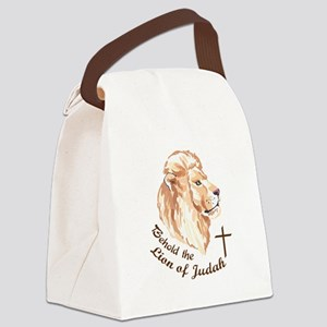 THE LION OF JUDAH Canvas Lunch Bag