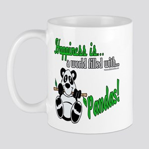 Happiness is Pandas Mug