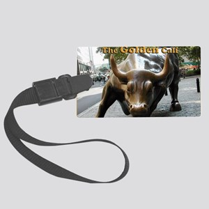 The Golden Calf Large Luggage Tag