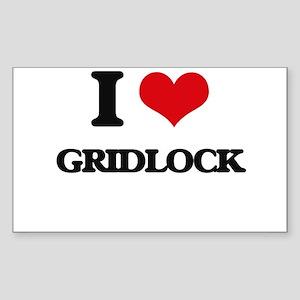 I Love Gridlock Sticker