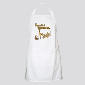 Happiness is a giraffe BBQ Apron