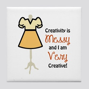 IM CREATIVE APPLIQUE Tile Coaster