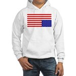 Upsidedown Flag #1 Hooded Sweatshirt