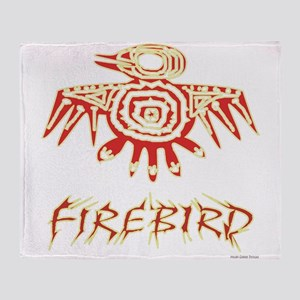 Fire Bird Throw Blanket