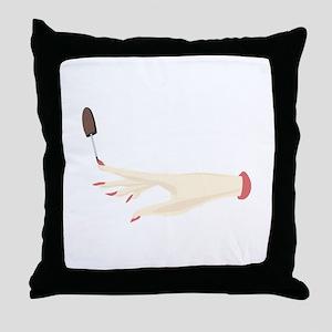 Nail Polish Throw Pillow