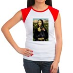 Mona's Doberman Women's Cap Sleeve T-Shirt