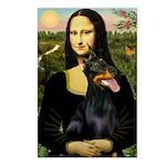 Mona's Doberman Postcards (Package of 8)