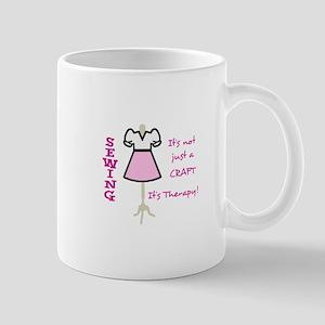 NOT JUST A CRAFT APPLIQUE Mugs