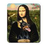 Mona's Doberman Mousepad