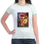 Mandolin Angel & Dobie Jr. Ringer T-Shirt