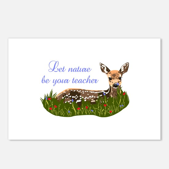 LET NATURE BE YOUR TEACHER Postcards (Package of 8