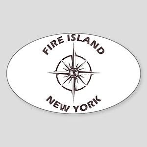 New York - Fire Island Sticker