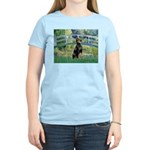 Bridge / Doberman Women's Light T-Shirt