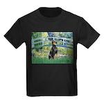 Bridge / Doberman Kids Dark T-Shirt