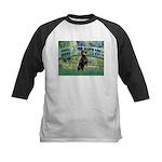 Bridge / Doberman Kids Baseball Jersey