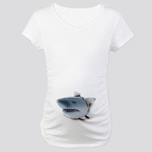 Shark Belly Burster Maternity T-Shirt