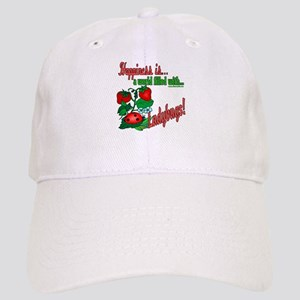Happiness is a ladybug Cap