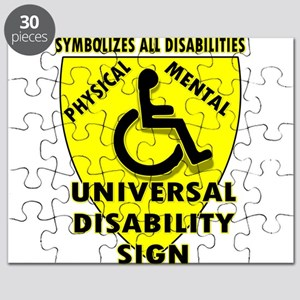 DISABILITY SIGN Puzzle