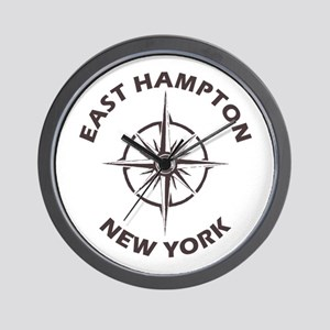 New York - East Hampton Wall Clock